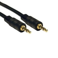 3.5mm Jack Plug To Plug Male Cable Audio Lead For Mobile Headphone Aux Music lot