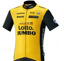 """2018 TEAM LOTTO JUMBO Cycling Pro Jersey """"Fast Delivery"""""""