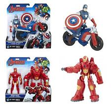 "Marvel Avengers 6"" Inch Deluxe Action Figure (Captain America/Iron Man) **NEW**"