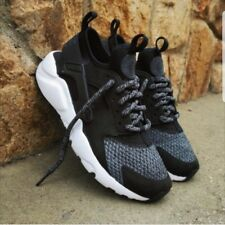 Nike Air Huarache Run Ultra SE GS Trainers Shoes 942121 004 Black