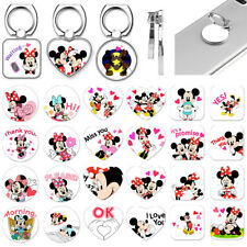Disney Mickey Minnie Mouse Finger Ring Phone Grip Tablet Stand Holder Mount New