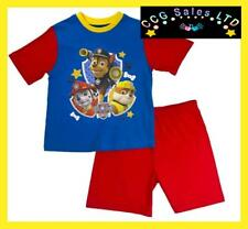 Official Paw Patrol Chase Marshall And Rubble Short Pyjama Set