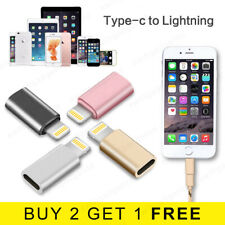 USB-C 3.1 Type C Female to iPhone 8pin Lightning Adapter Cable Converter Charger