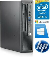 HP Compaq PC 8200 Elite Intel i5 4X3,1 GHz 4-16 GB RAM 250-500 GB HDD Win7-10