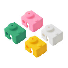 4Pcs Heated Block Cover Silicone Insulation Sock Case Part for E3D-V6 Hotend
