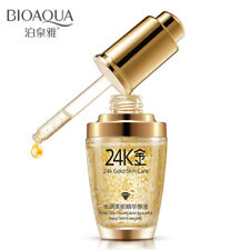 24K Gold Skin Care Essence Anti Wrinkle Face Anti Aging Collagen Whitening