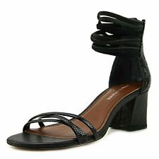 Donald J Pliner Womens Essie Leather Open Toe Casual Ankle Strap Sandals
