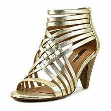 INC International Concepts Womens Garoldd Leather Open Toe Special Occasion S...