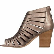 Donald J Pliner Womens Greece Leather Peep Toe Casual Strappy Sandals