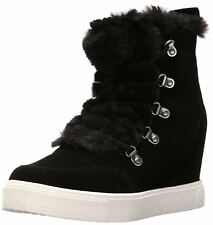 Steve Madden Womens Lift Suede Hight Top Lace Up Fashion Sneakers