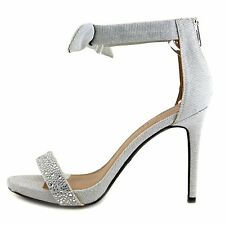 ZIGI SOHO Womens SAULY Fabric Open Toe Special Occasion Ankle Strap Sandals