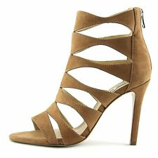 Steve Madden Womens Swyndlee Leather Open Toe Casual Strappy Sandals