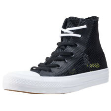 Converse Ct All Star Hi Ii Lunarlon Unisex Black White Mesh Trainers