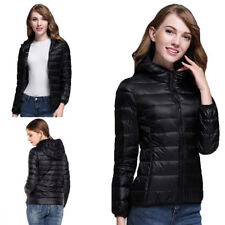 NEW Womens Duck Goose Down Ultralight Winter Jacket Warm Puffer Coat Packable