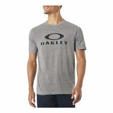 OAKLEY O-STEALTH II TEE HEATHER GRIS SS 2018 CAMISETA NUEVO S M L XL SKATE SURF