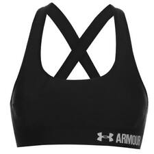 UNDER ARMOUR 'MID IMPACT' SPORTS BRA - BLACK - ***MASSIVE DISCOUNT***