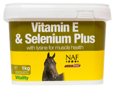 Natural Animal Feeds Naf Vitamina E y Selenio Plus