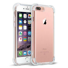 For iPhone 7Plus / 7 /X /8 / 6S / 6 Plus Case Clear Bumper Rubber Protective TPU