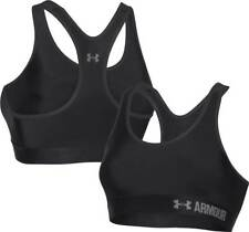 UNDER ARMOUR 'MID IMPACT' SPORTS BRA - BLACK/GREY ***MASSIVE DISCOUNT***