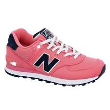 New Balance 574 Pique Polo Pack Trainer | Bubblegum Pink with Navy