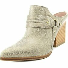 Donald J Pliner Womens Vero 2 Leather Pointed Toe Mules