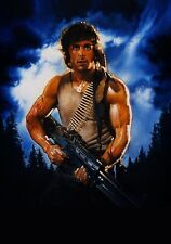 FIRST BLOOD Movie PHOTO Print POSTER Film 1982 Rambo Sylvester Stallone Art 001