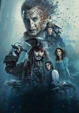 PIRATES OF THE CARIBBEAN; DEAD MEN TELL NO TALES Move PHOTO Print POSTER Art 003