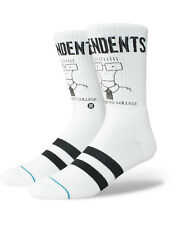 Stance Milo Goes To College Crew Socks in White