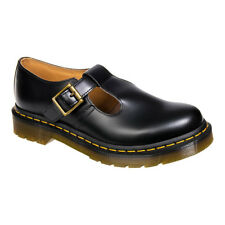 Stivaletti Unisex Adulti In Pelle Smooth Nera E Suola In Gomma Dr Martens Polley