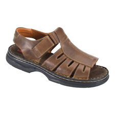 Homme Cuir Sandales komfortsandale sandalette chaussure chausson taille 41 42 45