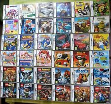 NINTENDO DS Kids Games Make your selection 3DS COMPATIBLE