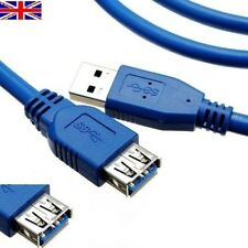 USB 3.0 Type A M to A F Super Speed Cable Extension Lead Wholesale UK