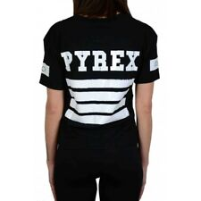 T-shirt donna in Jersey Pyrex 33820 Nera