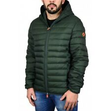 Giubbotto uomo save the duck d3065m dull 5 deep green