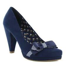 Ruby Shoo Susanna Womens Court Shoes - Navy