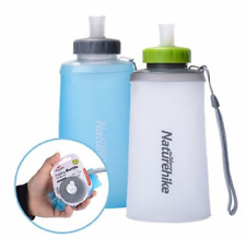 Naturehike Silicone Folding Water Bottle Outdoor Sports Soft Cup Portable Drinki