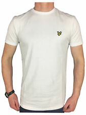 Lyle & Scott Mens Logo Branded Cotton T-Shirt in White