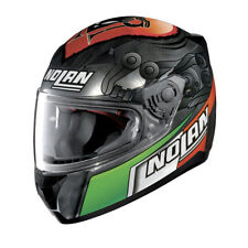 NOLAN Casco Integrale N60-5 GEMINI REPLICA 35 M. Melandri - SCRATCHED CHROME