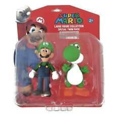 SUPER MARIO - LARGE FIGURE COLLECTION - OFFICIAL NINTENDO - TWIN PACK - NEW