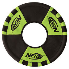 Nerf Dog Gioco per cane zieh-wurfring Rosso/Verde, varie misure, NUOVO