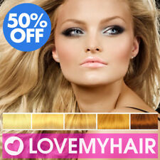 50% OFF. Clearance Stock. Clip in Human Hair Extensions Full Head. Many Colours