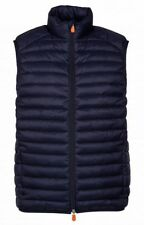 Gilet Uomo SAVE THE DUCK D8241M-GIGA6 Azzurro