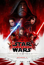 STAR WARS VIII: THE LAST JEDI Theatrical Poster (A1 - A2)