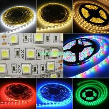 multicolore 5m rgb 3528/5050 smd impermeabile 60/300 led luce striscia flessible