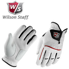 Wilson Staff Hombre Agarre Plus Golf glove-left-handed-white-new