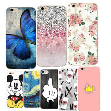For iPhone 5 5S Case Silicone For Apple iPhone 5 S SE 6 6S 7 8 Plus Cover TPU