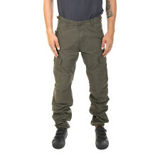 Carhartt Pantaloni / Bottoms Uomo Aviation Pant Cypress Rinsed Verde
