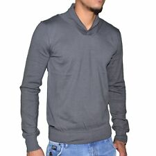 KAPORAL  PULL FIN  STRETCH  HOMME  LINKH  GRIS NEUF GRADE A