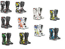 Sidi Crossfire 2 SRS Botas Motocross Mx Enduro Boots SUPERMOTO HIGH END