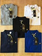 New Lyle & Scott Mens Polo T-Shirt Large XL SALE